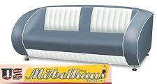 SF-02-CB Blue Bel Air Amerikanische Möbel Designer Sofa Wohnzimmer Sessel Retro
