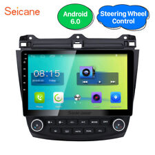 For Honda Accord 7th Dual AC Touchscreen Android 6.0 Car GPS Navi Radio Stereo