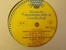 004 375 Schubert Sonatinas for Violin & Piano / Schneiderhan / Klien NO JKT TLP