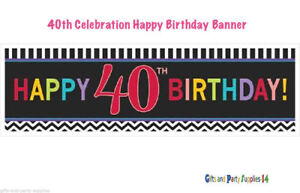 40th BIRTHDAY Party Supplies Milestone Adult Party Decoration Balloons Candle 40