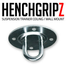 HENCHGRIPZ X BODYWEIGHT TRAINER STEEL CEILING / WALL MOUNT SUSPENSION ANCHOR