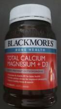 1x BOTTLE 200 TABLETS OF BLACKMORES BONE HEALTH-TOTAL CALCIUM MAGNESIUM PLUS D3