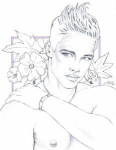 "Adult  Gay Interest ONLY ""Dream Eyes"" Original COPY by Mario Bieletto"