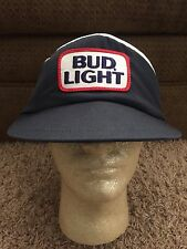 Bud Light Beer Vintage Visor Baseball Cap Trucker Hat Unique Retro Old School