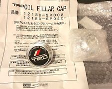 TRD JAPAN BILLET ALUMINUM OIL CAP 4age 20v twist type spring loaded TOYOTA SUPRA