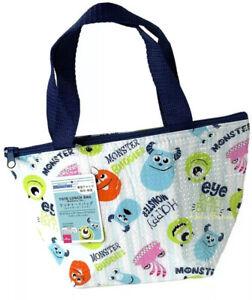 NEW Disney Monsters Inc Mini Tote Lunch Bag Thermal