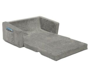 Serta Perfect Sleeper Extra Wide Convertible Sofa to Lounger - Comfy 2-in-1 Flip