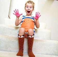 Cute Baby Toddler Girl's Boy's Soft Leggings Warmer Leg Warmers Knee Long Socks