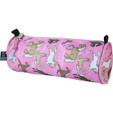 Wildkin Horses in Pink School Pencil Case Make up bag pouch
