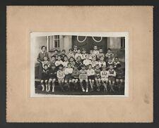 █ Neudorf ECOLE DE NEUFELD Photo Classe Strasbourg 1932 █