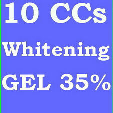 35% TOOTH TEETH WHITENING WHITENER GEL 10cc FAST 40apps - SUPER FAST SHIPPING!