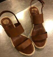 Vince Camuto Women's LAURKETA Sandal tan 11 Medium