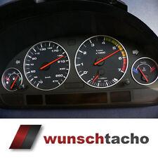 """Tachoscheibe für BMW E38-E39 E53/X5  """"Alp-Black.""""     Benziner"""