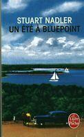 Livre Poche un été à Bluepoint  Stuart Nadler Albin Michel 2017 book