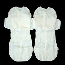 Lot of TWO SNOO Size LARGE 4-6 Month Sleep Sack Swaddle Happiest Baby Cotton