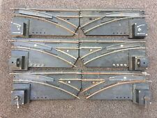 AMERICAN FLYER 3 PAIR REMOTE SWITCH TRACKS
