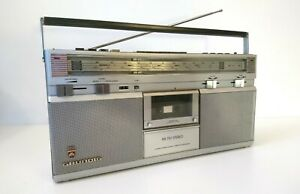 Grundig RR 710 Boombox, Portable Stereo Radio, Cassette Player, Made in Germany