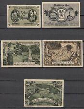 Oberweißbach - 5 Bills in Packaging, Lindman 975, Flour 1003, Complete Set