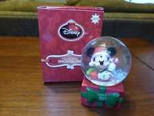 NEW 2013 Mickey Mouse Disney JCPenney Snow Globe Black Friday Christmas Holiday