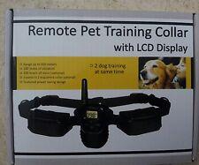 2 collares con mando a distancia Antiladridos educación perros Ladrar collar