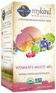 mykind Organics Women's 40+ Multi by Garden of Life, 120 tablet