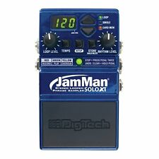 Digitech JMSXT JamMan Solo XT Stereo Looper Phrase Sampler Pedal w/ Power Supply