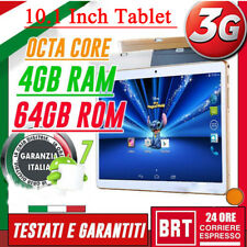 """TABLET 10.1"""" IPS 3G OCTA CORE! 2.0GHz 4GB RAM 64GB ROM ANDROID 7! Tablet TY"""