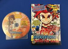 FUTURE CARD BUDDYFIGHT PROMOTIONAL DVD AND STARTER BOOK
