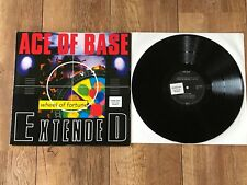 "ACE OF BASE - WHEEL OF FORTUNE : NM GERMAN PROMO 12"" VINYL LP SINGLE 861 545-1"