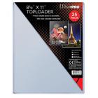 Внешний вид - 25 Ultra Pro 8 1/2 x 11 Toploaders  Photo Holders Storage Protection 8.5 X 11