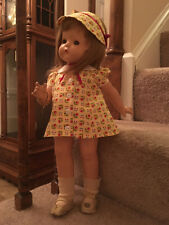 """Vintage Effanbee Patsy Ann Doll 19"""" Composition 1930s"""