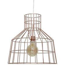 Lumière Plafond Pendant lampe câble en cuivre cadre CAGE STYLE GRAND