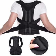 Posture Corrector Brace Adjustable Back Shoulder Support Belt Reduce Pains UK