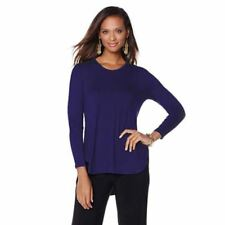 """Antthony Womens """"Just in Time"""" Solid V-Neck Knit Size M Charcoal Color"""