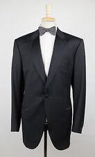 New. BRIONI Seneca 09K Black Super 150's Wool 1 Button Tuxedo Suit 58/48L $6895