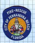 Fire Patch - City of Fernandina beach Florida