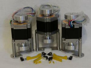 CNC Kit Proxxon MF70 umbau auf CNC mit NEMA23 Schrittmotoren+Ref-Endschalt Kit