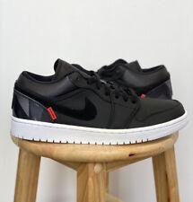 Air Jordan 1 Low Paris Saint Germain Black Grey CK0687 001 Size 9 Brand New