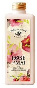 Pre de Provence, ROSE de MAI BODY LOTION (300ml/10.14fl oz) made in France