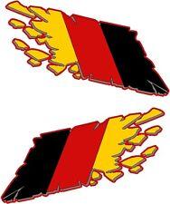 Vinyl Decal- German Germany Motorcycle Racing flames stickers decals wrap