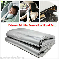 1.4M x 1M 5mm Heat Shield Sound Boat Car Hood Noise Control Underlay Mat Pad