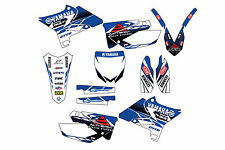 Yamaha UFO Restyled YZ125-250 02-16 graphic kit stickers 2002-2016 decals pegati
