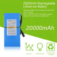 Wiederaufladbare Lithium-Batterie Tragbare 12.6V DC 20000mAh EU-Stecker-Adapters