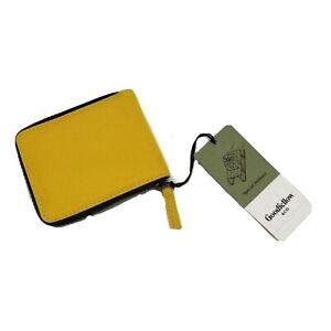 Goodfellow & Co Mens Zip Around Wallet Yellow