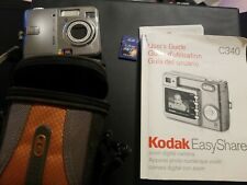 5.0 Kodak EasyShare C340 Zoom Digital Camera With Paper and 1 GB