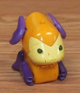 2002 Tomy Micropets Voice Activated Collectible Toy - That Orange Monster *READ*