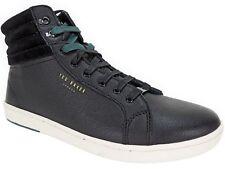 5752392b9 Ted Baker London Men s Mykka Hi Top Sneakers Black Leather   Suede Size 8.5