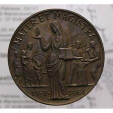 Medaglia Bronzo 1963 Enciclica Mater et Magistra LOT1295