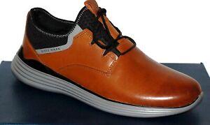 Cole Haan  Men's British Tan Irnst Gray Sole Fashion Grandsport  Sneakers Sz 12