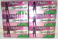 PLAYTEX Gentle Guide 360  Super Absorbency  Fresh Scent  6 / 8 Packs - 48 Total